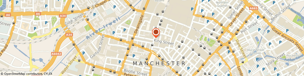 Route/map/directions to STEWART MONTROSE, M2 7AY Manchester, 49 King Street