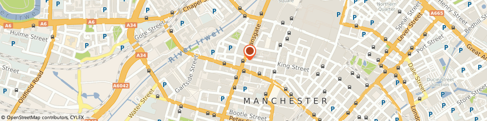 Route/map/directions to Barclays Bank, M3 4EN Manchester, 223 Deansgate