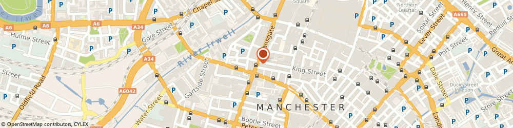 Route/map/directions to M e n Syndication, M3 3RN Manchester, 164 DEANSGATE