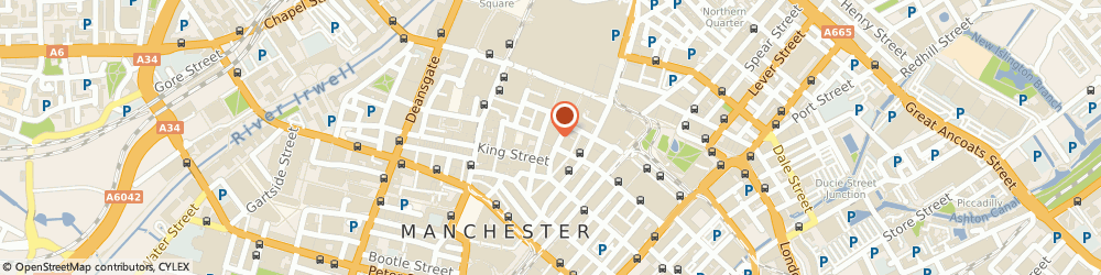 Route/map/directions to Hervia, M2 1EN Manchester, 40 Spring Gardens