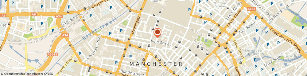 Route/map/directions to Ikon Furniture, M3 3BT Manchester, 53 King Street