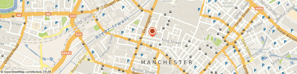 Route/map/directions to Digby C Jess, M2 6AQ Manchester, 8 King Street