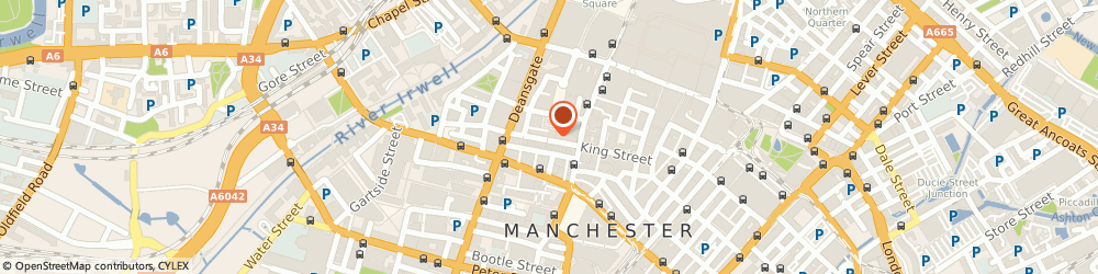 Route/map/directions to FRAMED OPTICIANS, M2 6AB Manchester, 1-3 St. Annes Passage