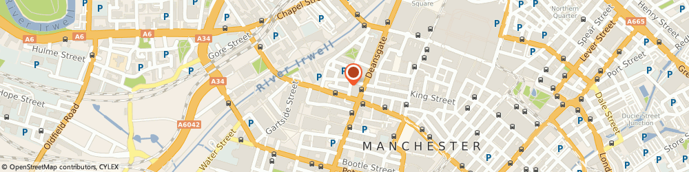 Route/map/directions to San Carlo, M3 2WY Manchester, 40-42 King Street West