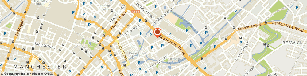 Route/map/directions to TOP AG LTD, M4 6DE Manchester, 132-134 Great Ancoats Street, Suite 33854, Advantage Business Center