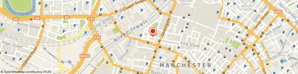Route/map/directions to Oz Beauty Clinic, M3 2WX Manchester, 38 KING ST WEST