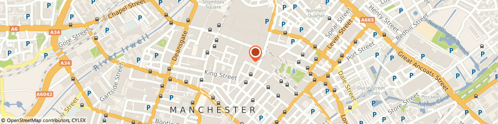 Route/map/directions to Silicon Dales, M2 3AW Manchester, Lowry House, 17 Marble Street