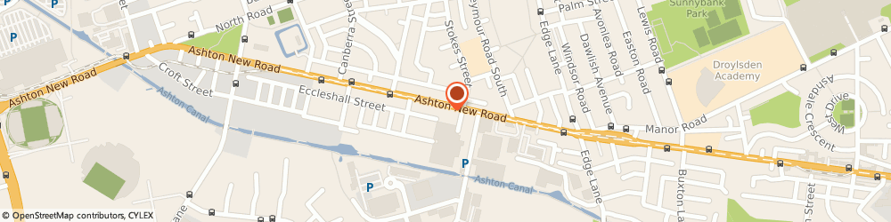 Route/map/directions to J Oldham, M11 4GT Manchester, 924, ASHTON NEW ROAD
