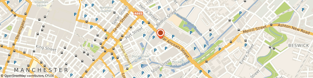 Route/map/directions to Blue Ocean Corporation Limited, M4 6DE Manchester, 133 Great Ancoats Street