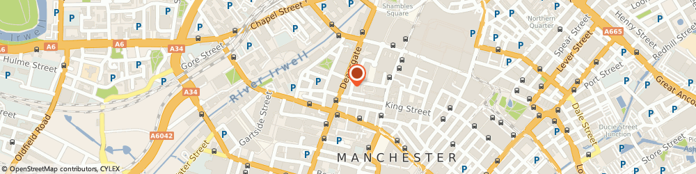 Route/map/directions to Kedem Cosmetics, M2 6AQ Manchester, 6 King St