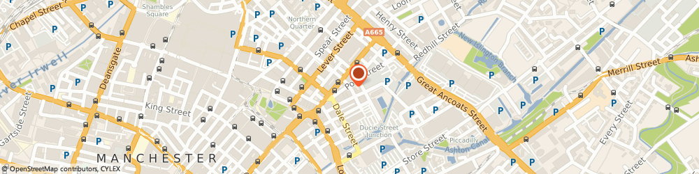 Route/map/directions to HIS PRESENCE ASSEMBLY (RCCG), M1 1EL Manchester, 37 Hilton St