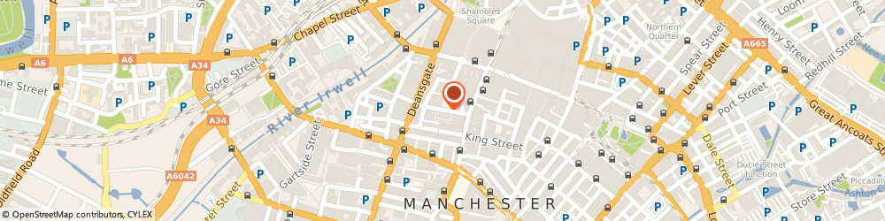 Route/map/directions to RBS The Royal Bank of Scotland ATM, M60 2SS Manchester, ST ANN STREET