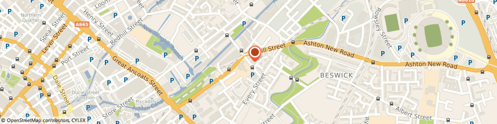 Route/map/directions to St Anne's R C Church, M4 7EQ Manchester, CARRUTHERS STREET