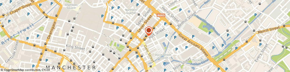 Route/map/directions to Proactive Investigations Ltd, M1 1FT Manchester, 47 NEWTON STREET