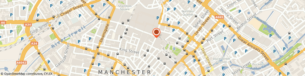 Route/map/directions to Pure Gym Manchester Market Street, M1 1PD Manchester, 90-100 Market Street
