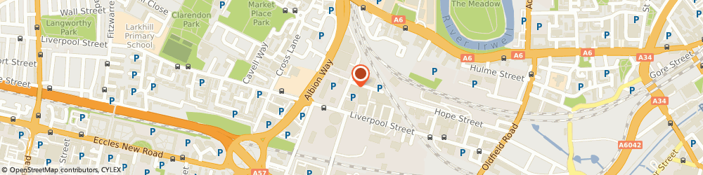 Route/map/directions to Salford Vauxhall / Fiat / Abarth, M5 4BE Salford, 1 Brunel Avenue
