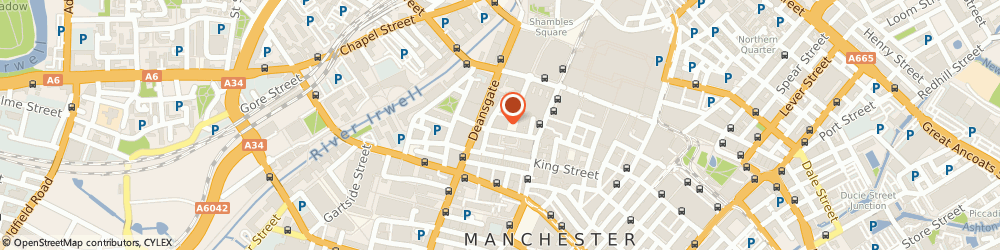 Route/map/directions to Adam & Co PLC, M2 7LG Manchester, Old Bank House, 25, St. Ann Street