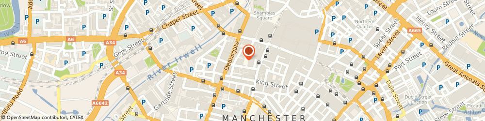Route/map/directions to Gonstead Clinic of Chiropractic, M2 7HG Manchester, 20 st Ann's Square, 3rd Floor