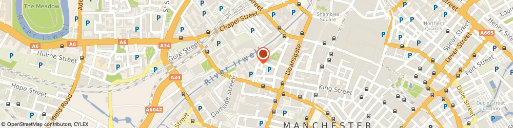 Route/map/directions to Universe Media Limited, M3 2WJ Manchester, 30 ST. MARYS PARSONAGE