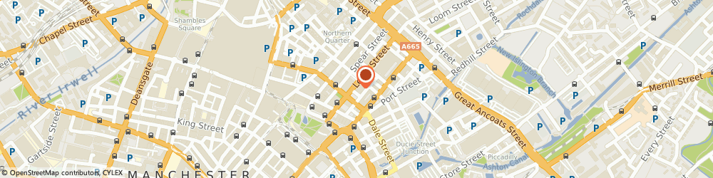 Route/map/directions to Craig & Co, M1 1DW Manchester, 24-26 LEVER ST, SUITE 12