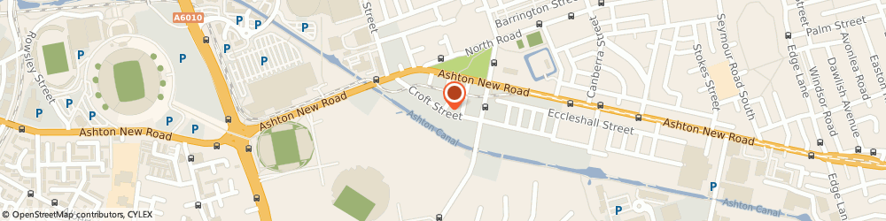 Route/map/directions to Gratt Motor Company, M11 4RQ Manchester, 34 CROFT STREET