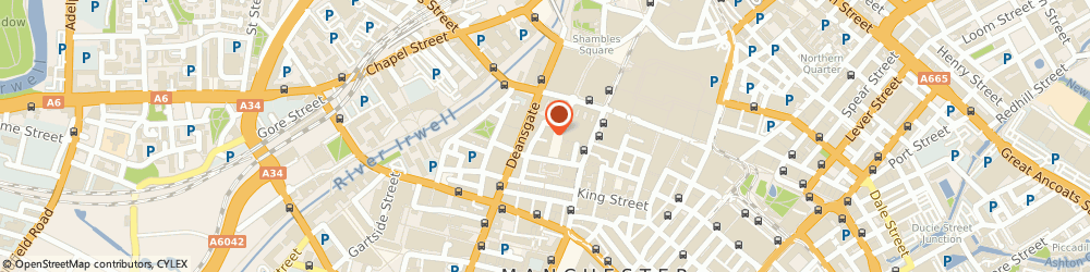 Route/map/directions to Christopher James, M2 7HW Manchester, 12A St Anns Square