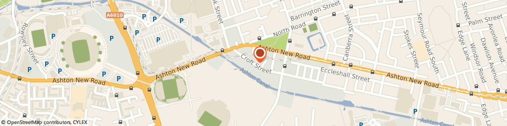 Route/map/directions to Skins on Rims, M11 4RQ Manchester, 35 CROFT STREET