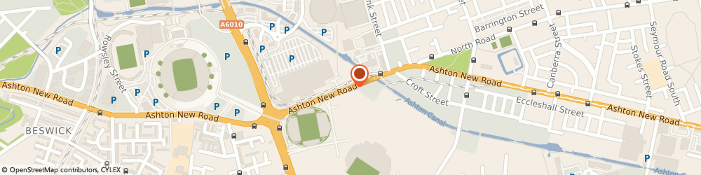 Route/map/directions to Asda Photo Department - Manchester, M11 4BD Manchester, Ashton New Road