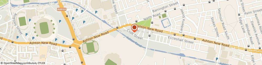 Route/map/directions to A b Haulage Co, M11 4RQ Manchester, 35 CROFT STREET