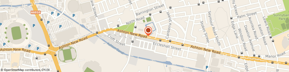 Route/map/directions to Derby Arms, M11 4EA Manchester, 575-577 ASHTON NEW ROAD