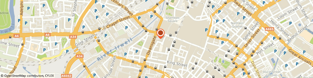 Route/map/directions to Shuropody Footcare - Manchester, M3 2AY Manchester, 49 Deansgate