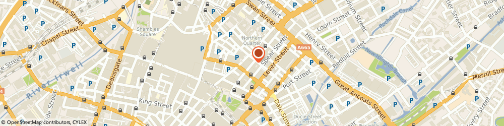 Route/map/directions to CAFE POP, M1 1JN Manchester, 34 Oldham Street