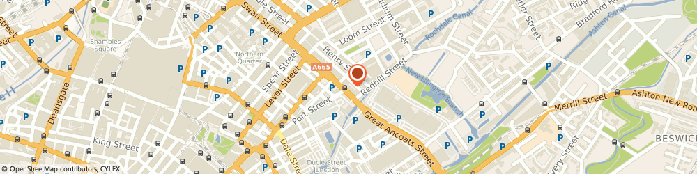 Route/map/directions to BoConcept Manchester, M4 5AG Manchester, 109-117 Great Ancoats Street