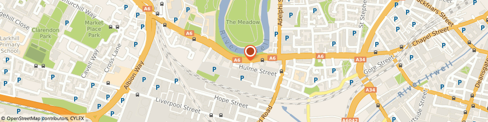 Route/map/directions to Basement Multimedia Limited, M5 4PF Salford, 25 CRESCENT