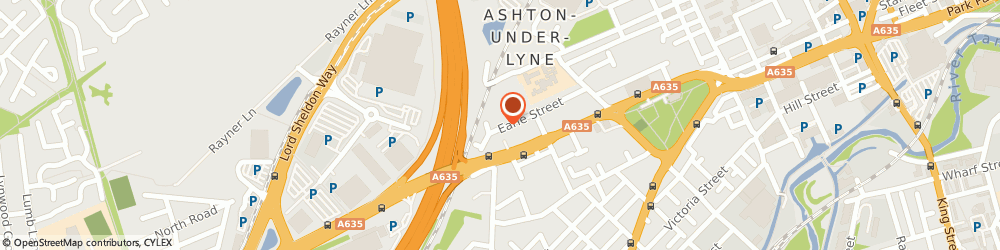 Route/map/directions to PAT-Check Electrical Testing Services, OL7 0EH Ashton-Under-Lyne, 86 Earle Street