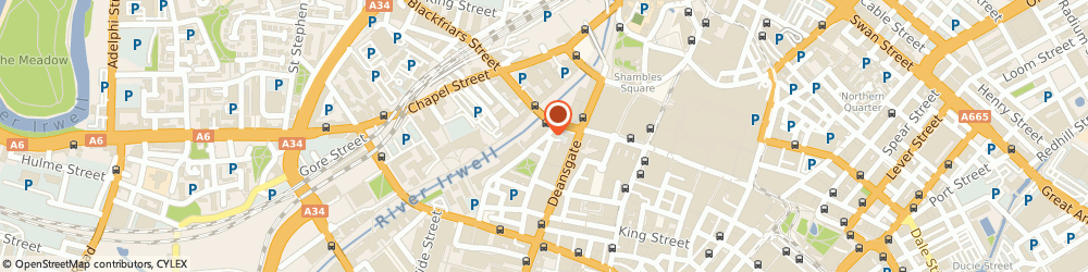 Route/map/directions to Bank Leumi (Uk) PLC, M3 2JA Manchester, BLACKFRIARS HOUSE PARSONAGE