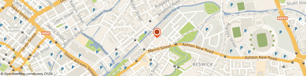 Route/map/directions to Fluid Bars Ltd, M3 3GZ Manchester, 320 Atherton St