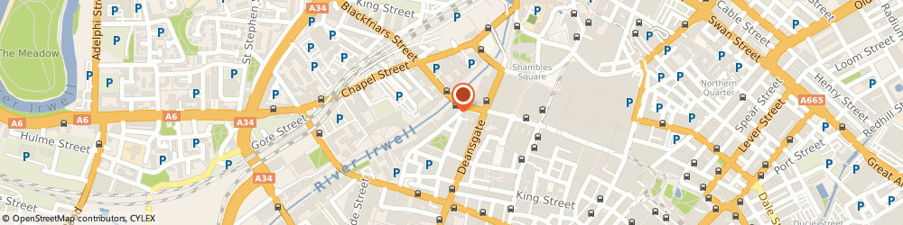 Route/map/directions to Blue Energy Partnerships Limited, M3 2JA Manchester, 6TH FLOOR BLACKFRIARS HOUSE, PARSONAGE