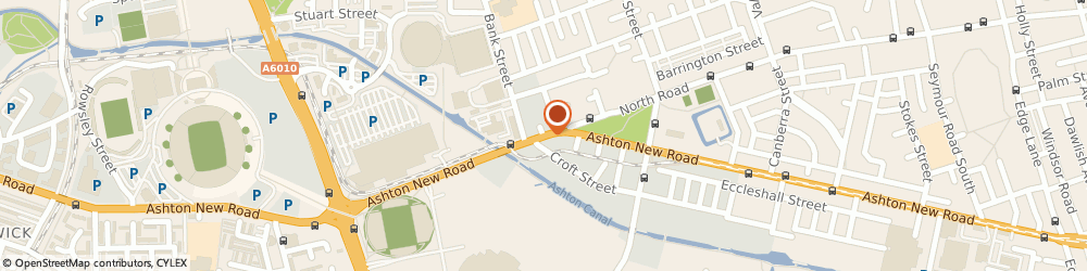 Route/map/directions to Isabella Alicia Ltd, M11 4EA Manchester, Unit 2, Buchan Street