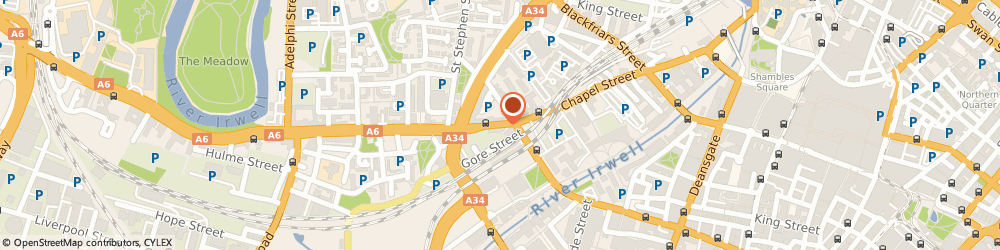 Route/map/directions to Brookstore Ltd, M3 5EQ Manchester, Griffin Court, 201, Chapel Street