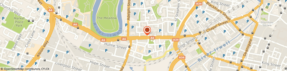 Route/map/directions to Access All Areas Security Installations Limited, M3 5JL Manchester, 260-8 CHAPEL STREET