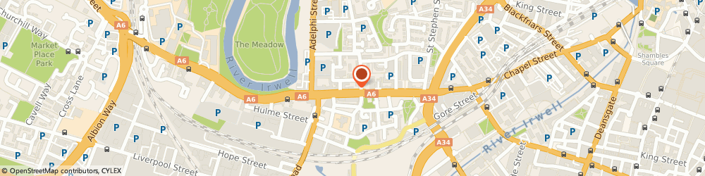 Route/map/directions to Hampstead Gray Ltd, M3 5JZ Salford, Alex House, Chapel Street