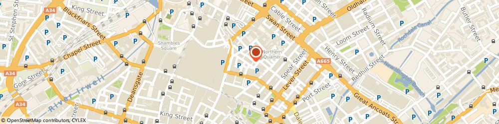 Route/map/directions to People People, M4 1DW Manchester, 37 Turner St