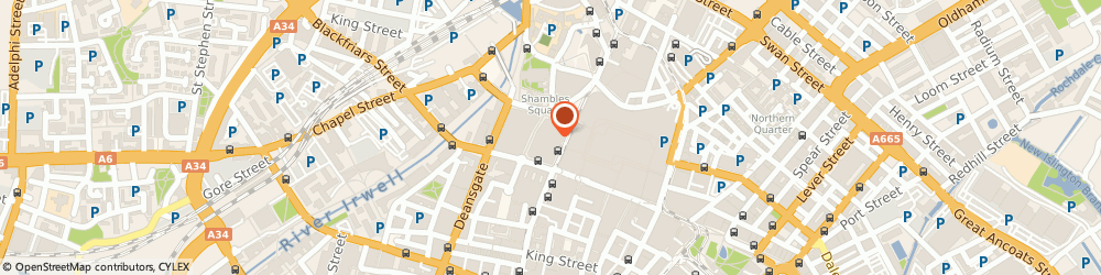 Route/map/directions to Blink Brow Bar, M3 1BD Manchester, 1 Exchange Square