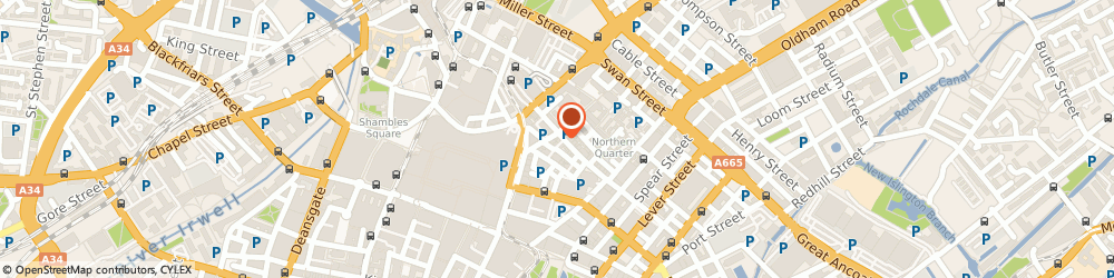 Route/map/directions to Outdoorlads Ltd, M4 1ER Manchester, 30-32 Thomas St