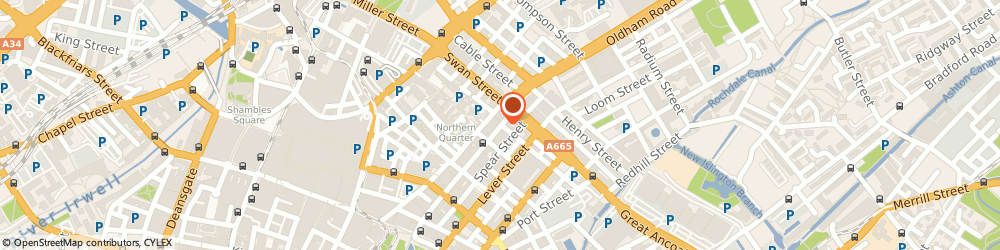 Route/map/directions to Magic Carpets, M4 1LF Manchester, UNITED BUILDING 80, OLDHAM STREET