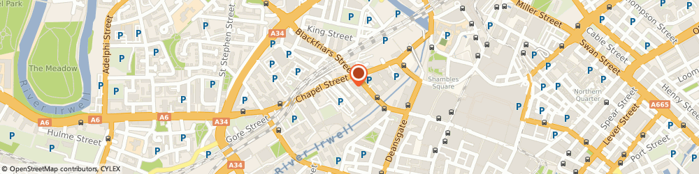 Route/map/directions to studio 10 manchester, M3 5DG Salford, 10 booth street