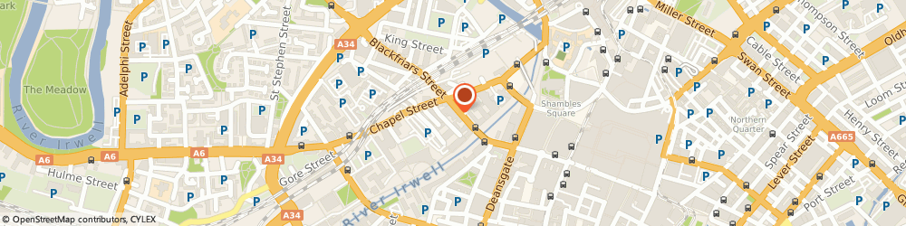 Route/map/directions to CandidSky, M3 5BQ Manchester, Conavon Court, 12 Blackfriars Street