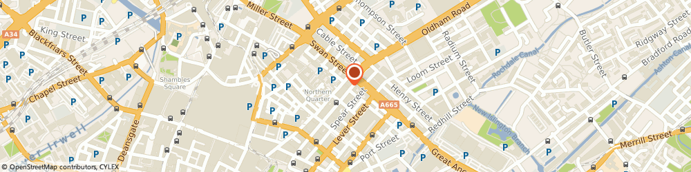 Route/map/directions to Mooch Art, M4 1LF Manchester, 88 OLDHAM STREET