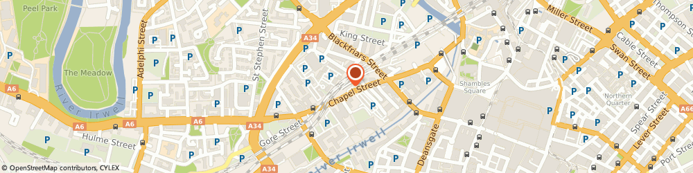 Route/map/directions to Jade Spa, M3 5DW Manchester, 102 Chapel Street